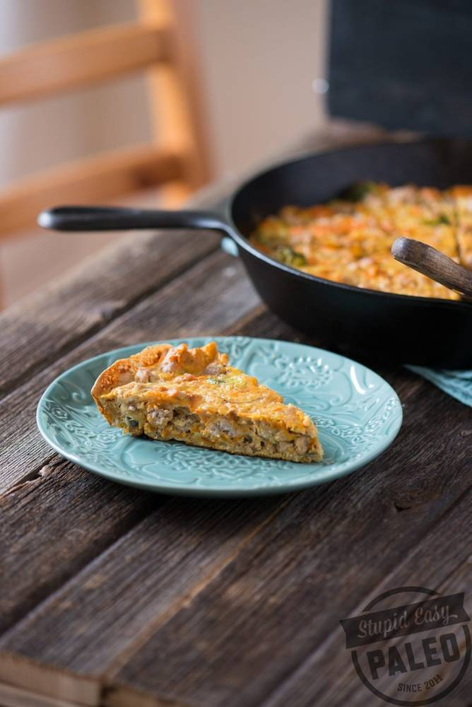 Paleo Chicken Sweet Potato Frittata Recipe