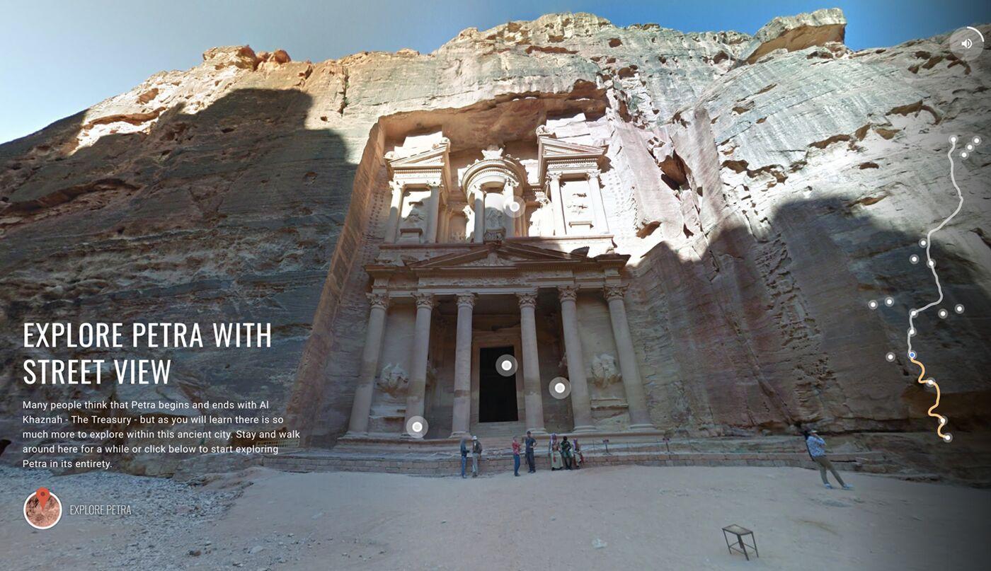 Google Petra VR experience