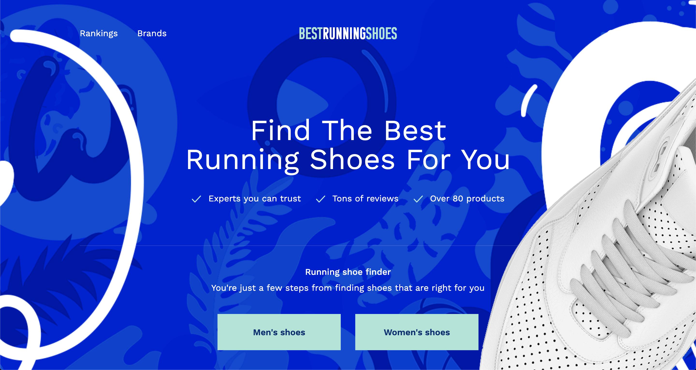 best running shoes website