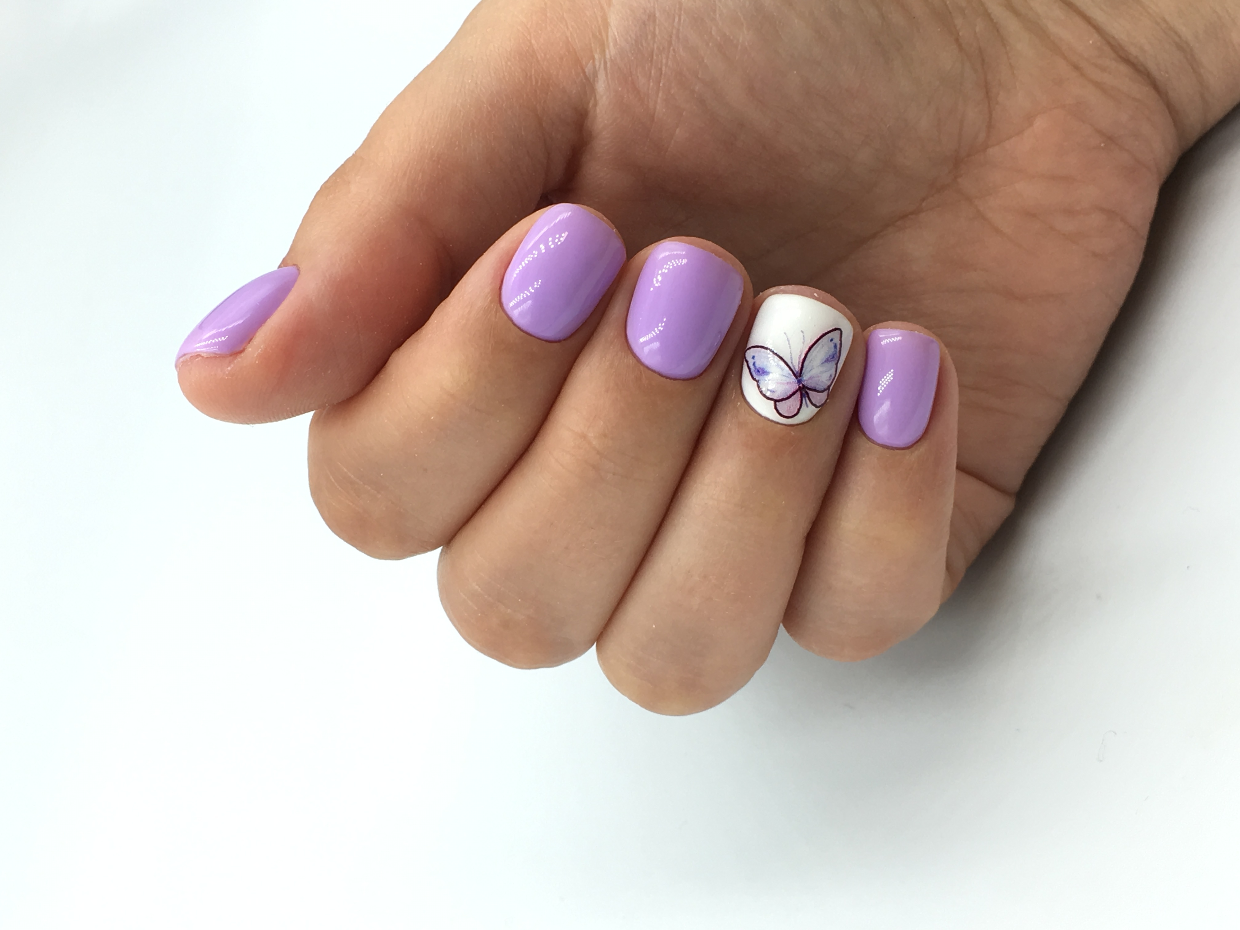 Correction of extended nails