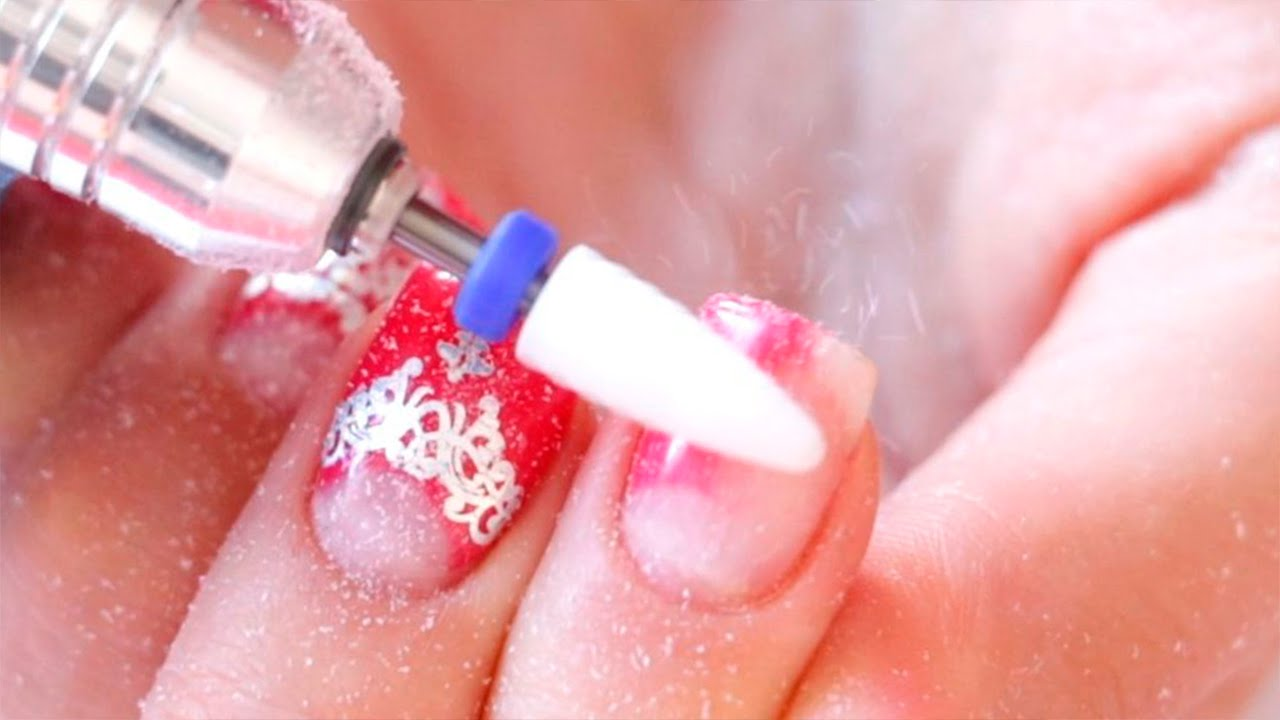 Gel nail polish removal with manicure