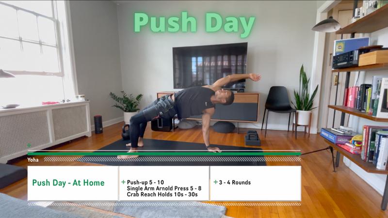 Activity image of Push Day - Upper Body
