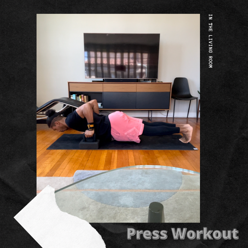 Activity image of Press Workout