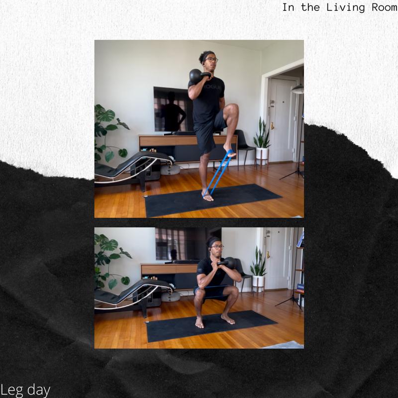 Activity image of High Volume Leg Day