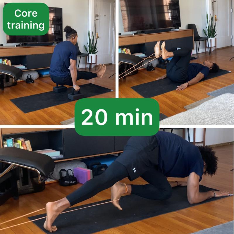 Activity image of Weekend Core Intensity