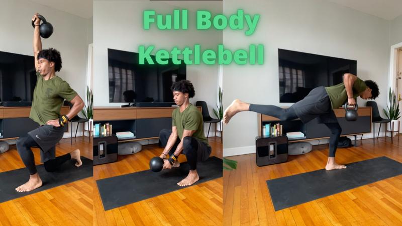 Activity image of Full Body Kettlebell Circuit