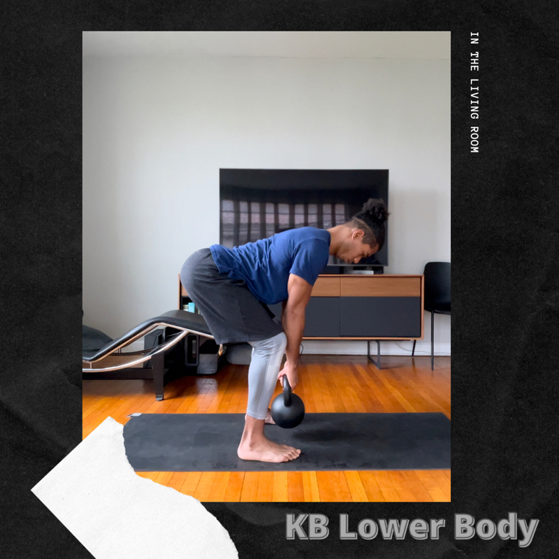 Activity image of Leg Day (Kettlebell)