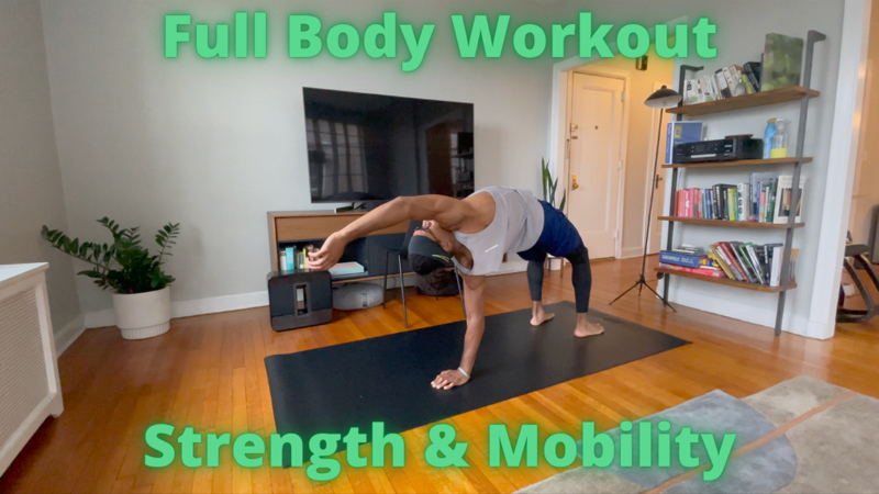 Activity image of Full Body Strength & Mobility - Body Weight