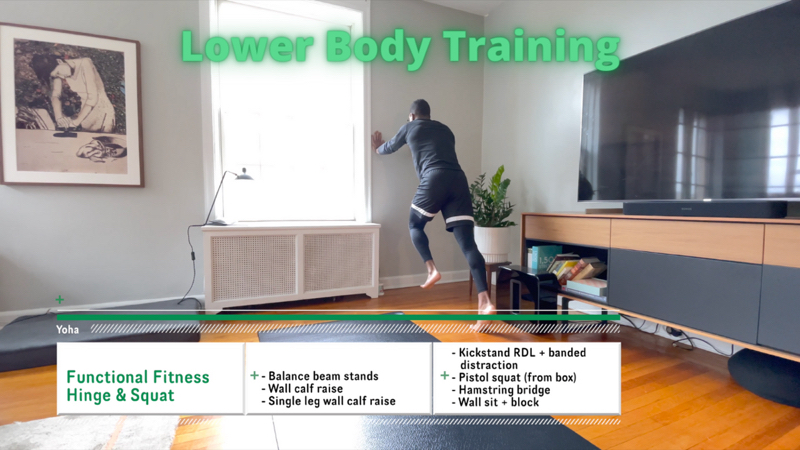 Activity image of Hinge & Squat - Functional Fitness