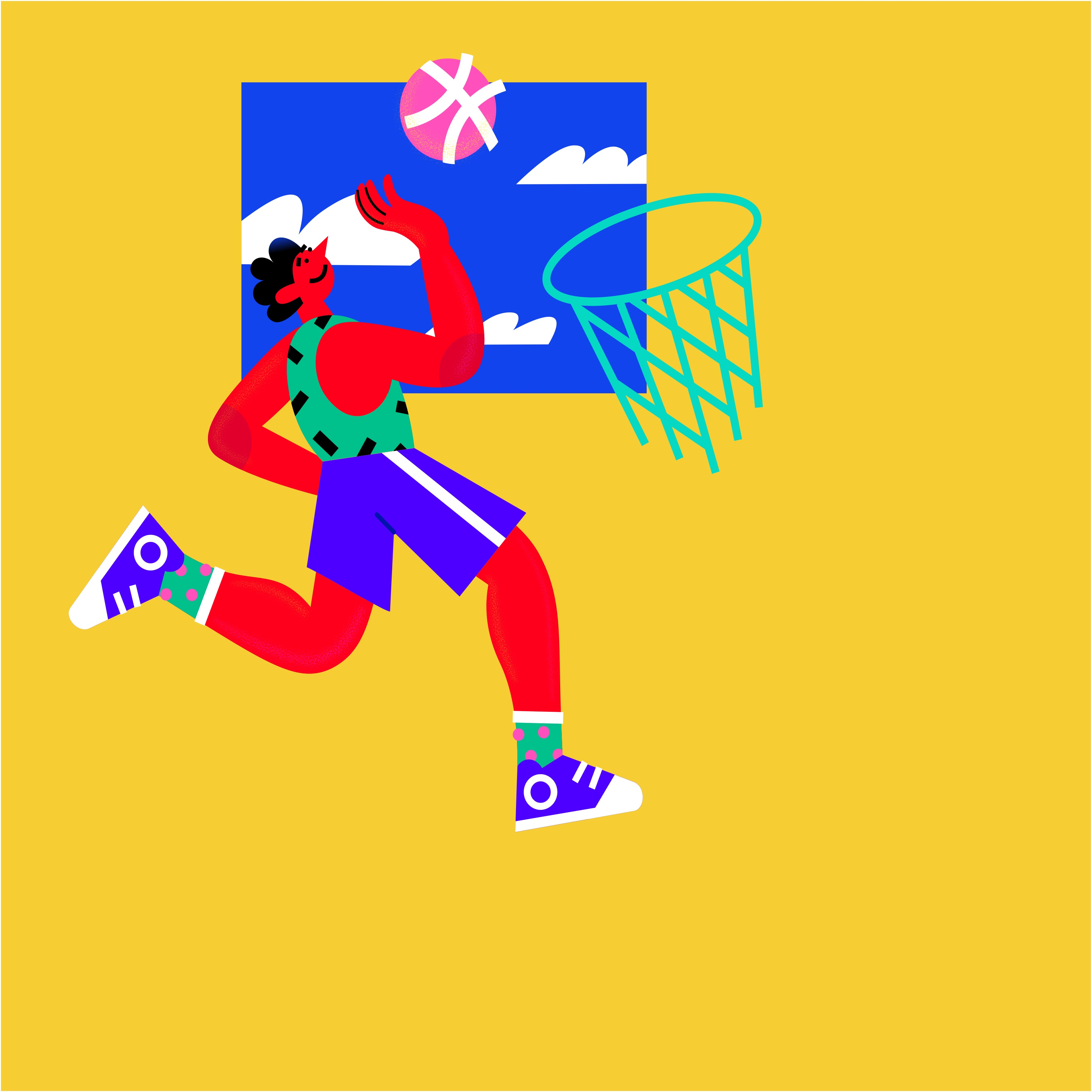 Activity image of Easy Basketball Shooting Workout w/ Partner