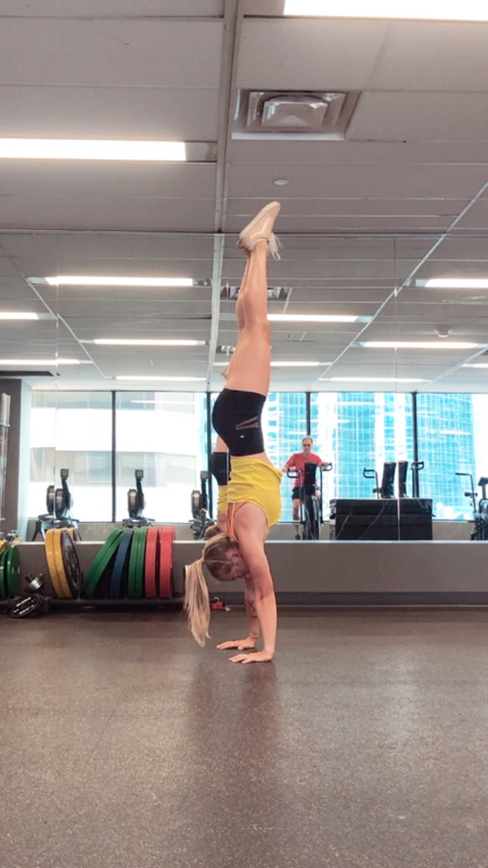 Activity image of Handstand Drills Session