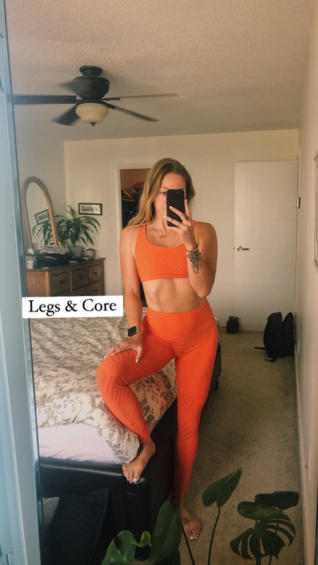 Activity image of Legs & Core At Home
