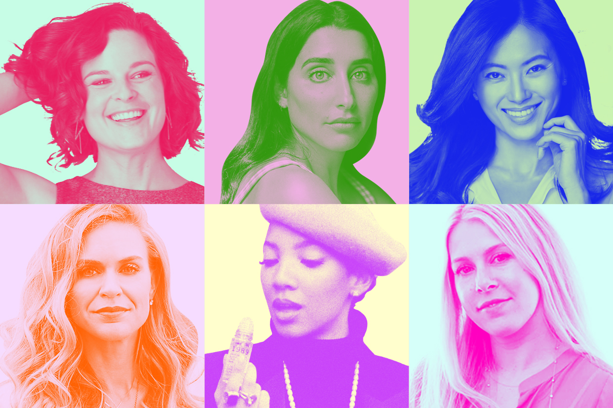 Headshots of 6 Beauty Brand Founders