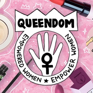 Makeup products by the brand Queendom