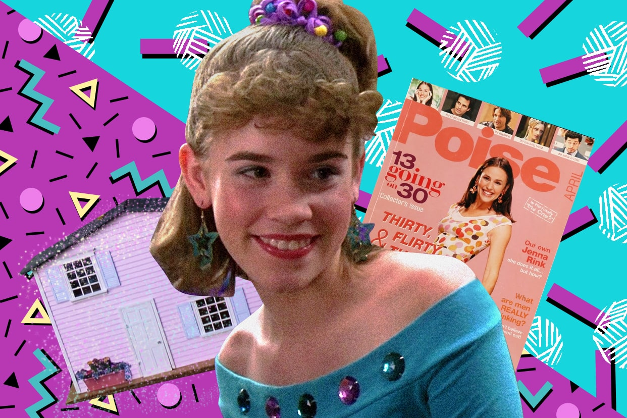 Christa Allen as Jenna Rink in the film 13 Going on 30