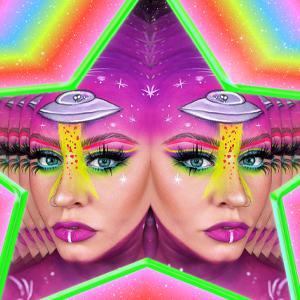 Abbywrenartistry in Alien Makeup