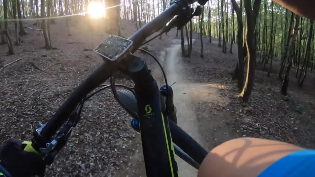 Singlekras Mariánské údolí: Trail 3