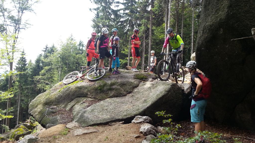 Bikepark Tanvaldský Špičák: Red trail