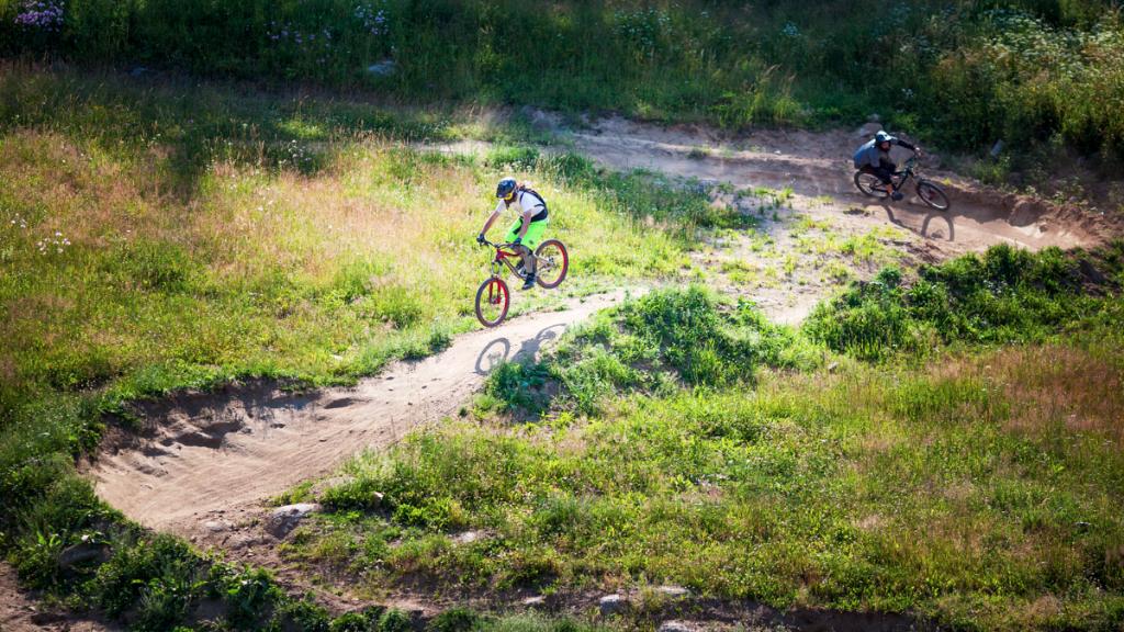 DH trail Monínec