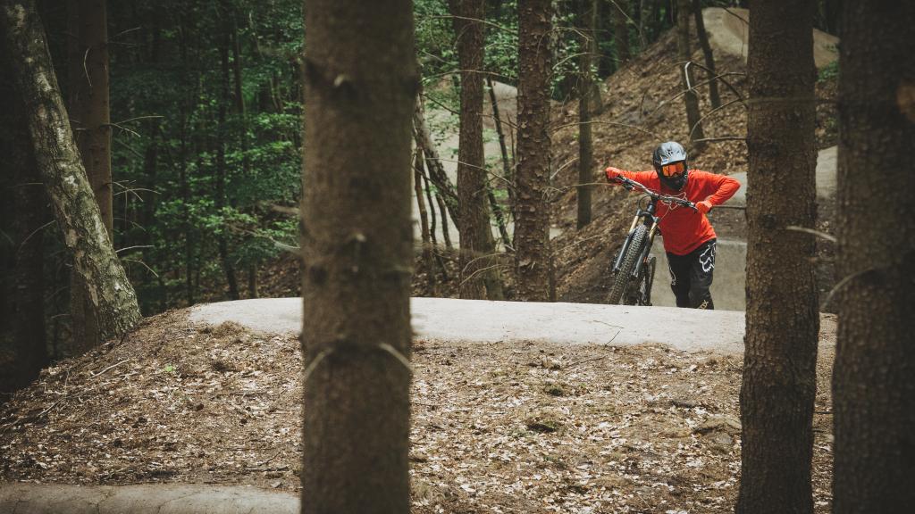 Silkeborg Bikepark - Opkørsel til start