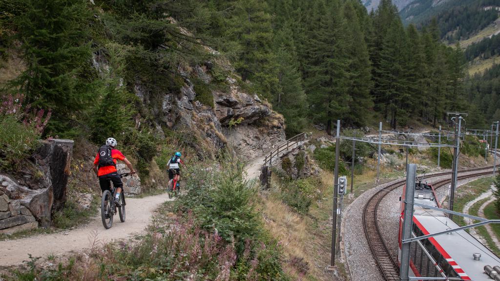 Route 150: Zermatt - Täsch