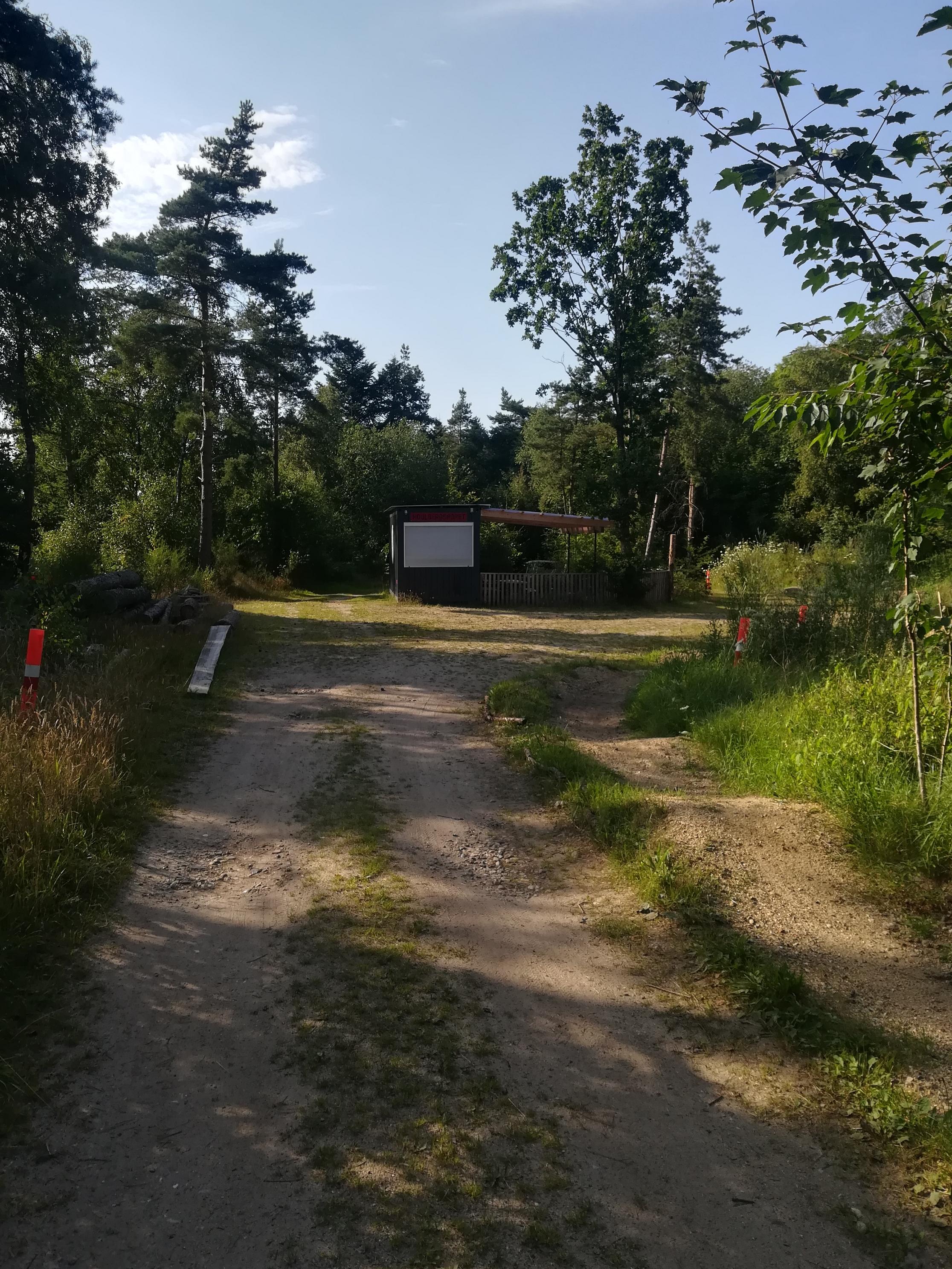 Houlberg sporet - rød
