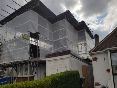 Temporary Roof Image