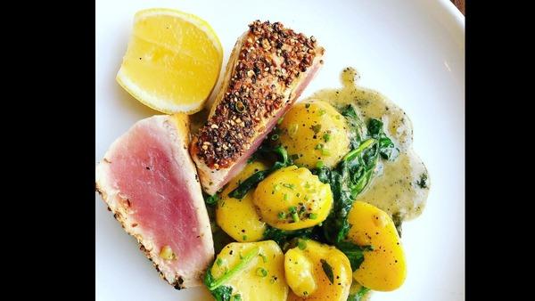 Seared Pastrami-spiced Tuna