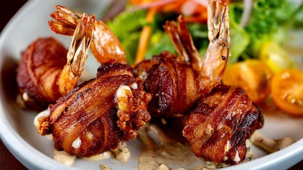 Bacon Wrapped Shrimp (2)