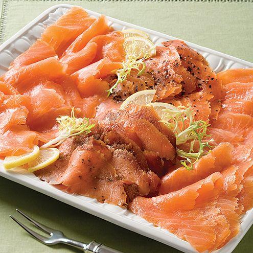 Smoked Salmon Board