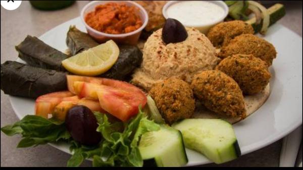 Mezzah Vegetarian Plate
