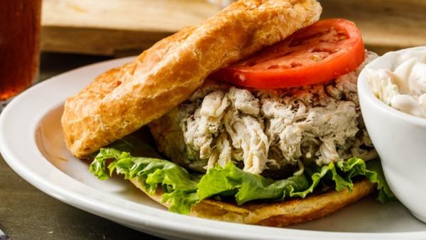 Apple-pecan Chicken Salad Croissant