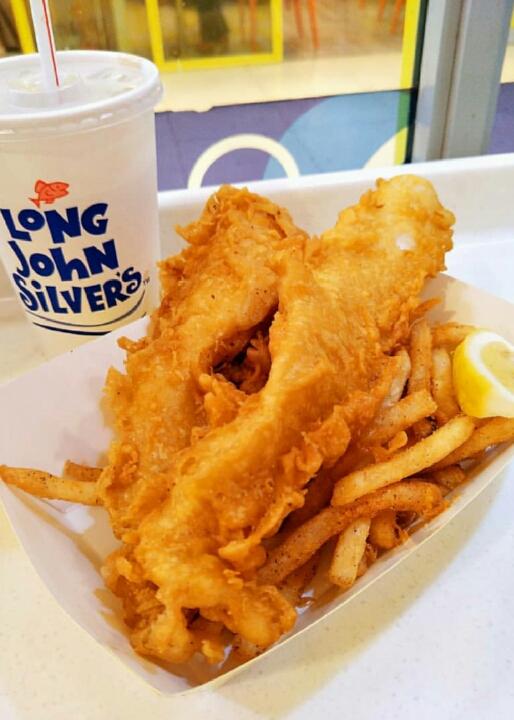 plurge on fish n chips 😋