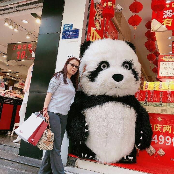lucky china panda