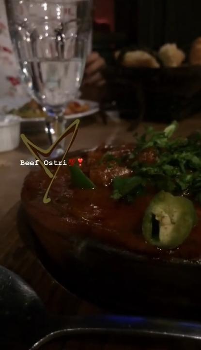 Beef ostri 😍😍