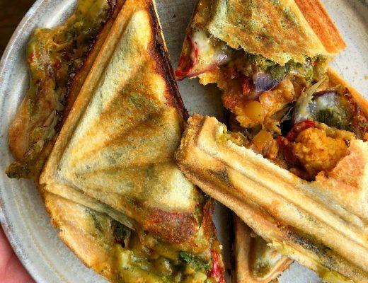 Recipe: Aloo Gobi Toastie