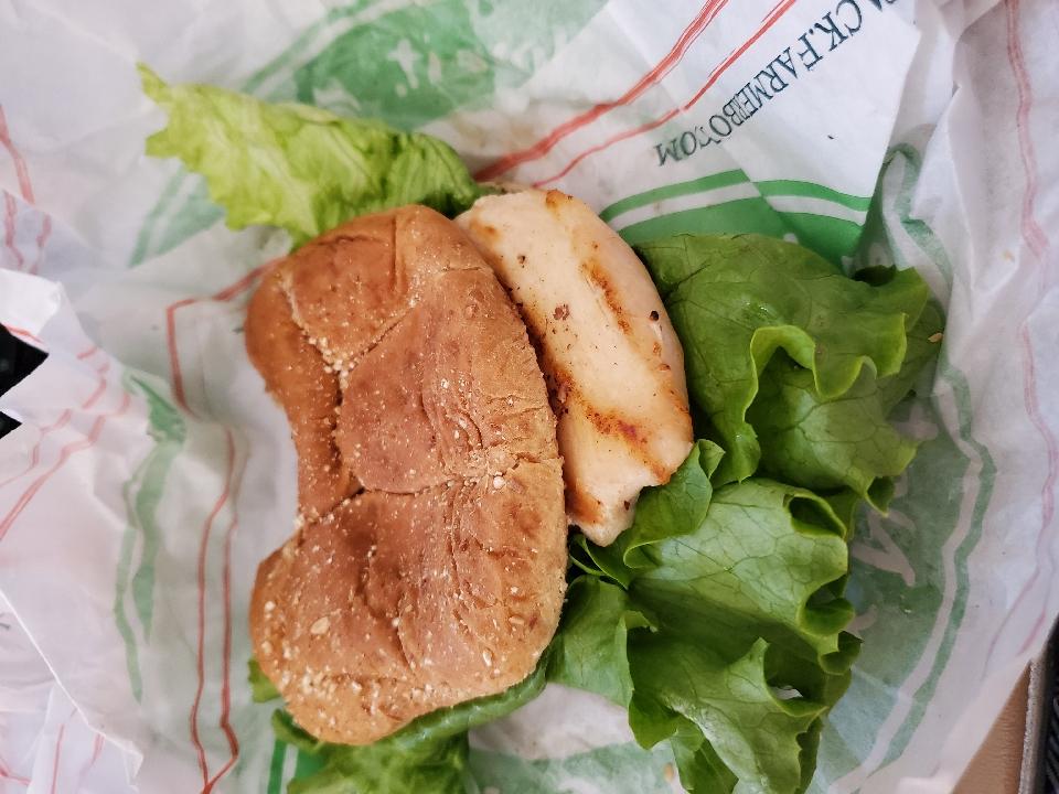 chicken sandwich.  Very Yummy