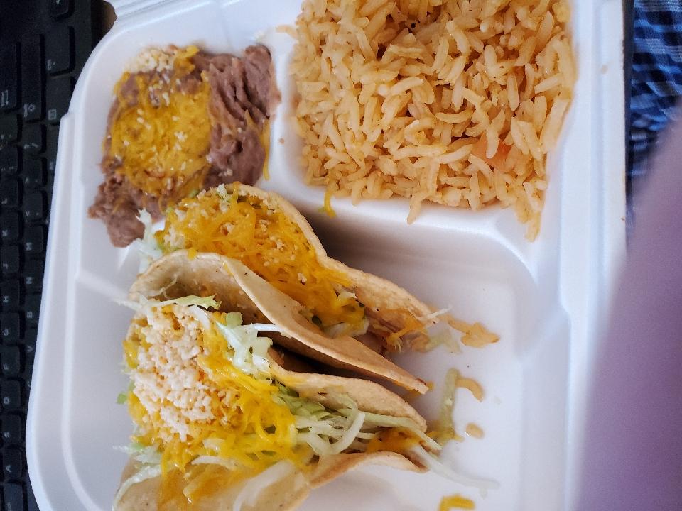 Chicken Tacos. :)