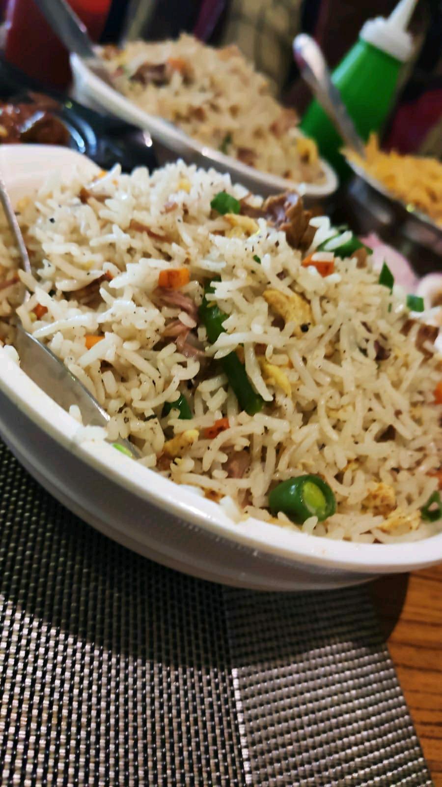 Mutton Fried Rice 😋❣️ #foodiechallenge