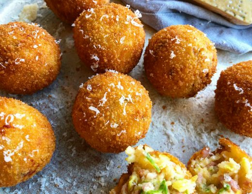 Parmesan, Bacon and Brussels Sprout Croquettes Recipe