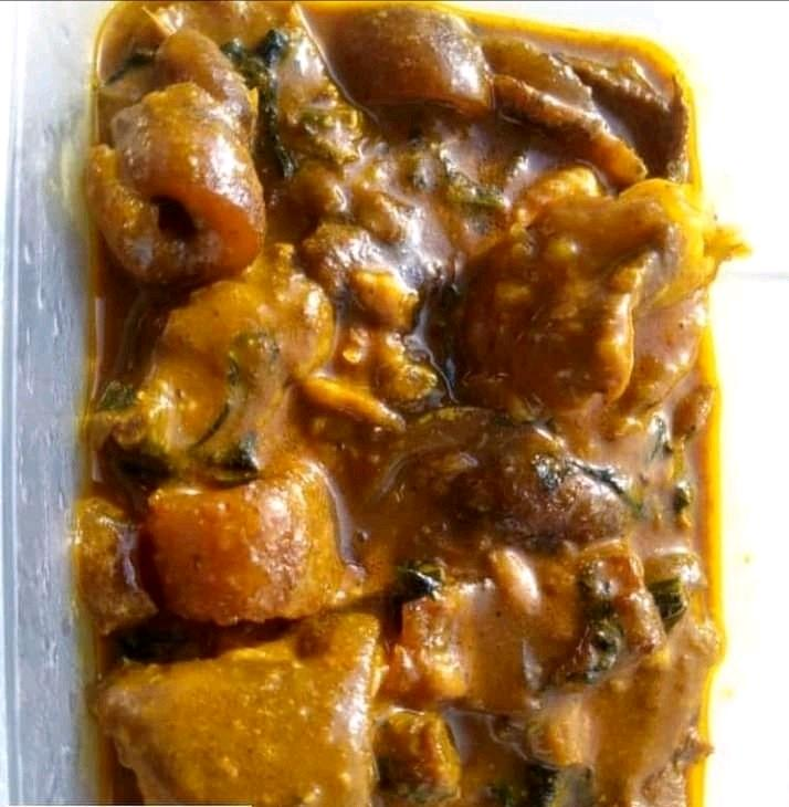 Delicious Ogbono soup #cookingReciephq