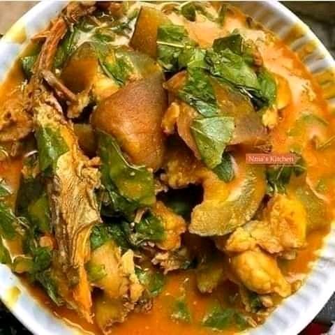 Enjoy your oha soup #cookingReciephq