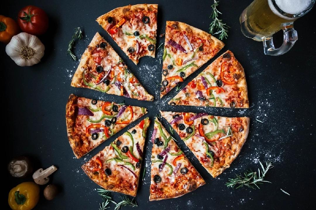 #Pizza#Food#Italian#Baked