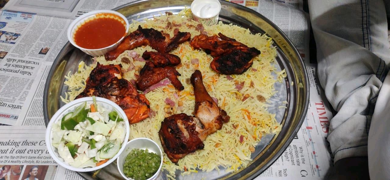 Chicken tandoori biryani one of the most famous food in India a lonely #Foodiechallenge