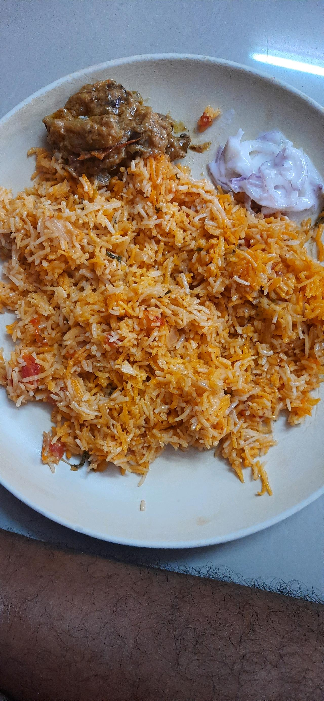 Hyderabad Dum Chicken Briyaani my First try 🥰🥰🥰 It comes well and tasty  #india_food_lovers #tamilnadu_food_lovers #chennai_food_lovers #briyaani_lovers