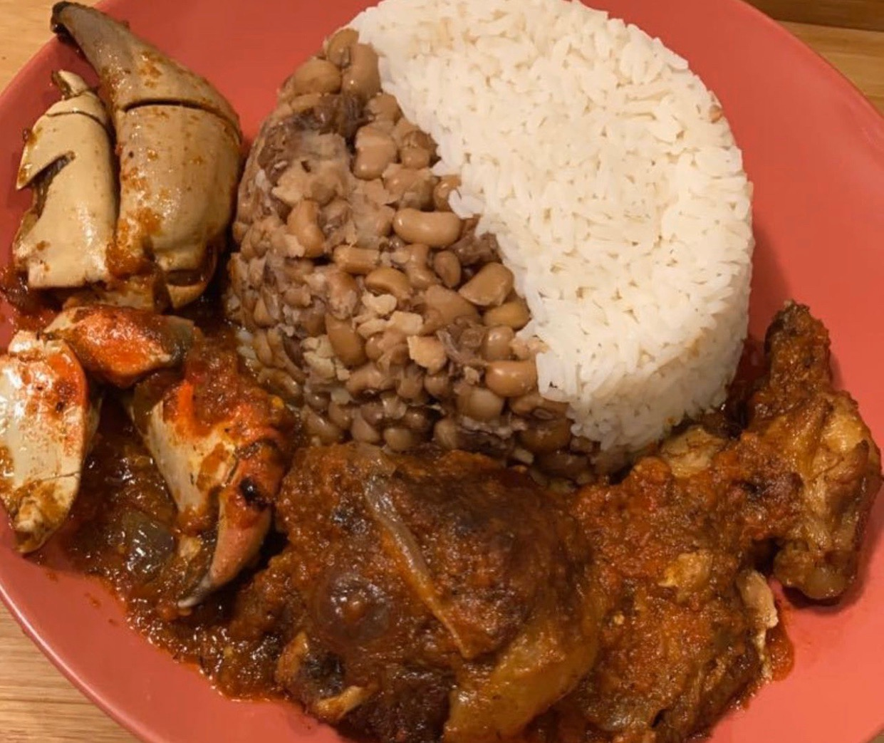 #cookingrecipehq  rice-  beans-  stew -shaki-  fish-  meat