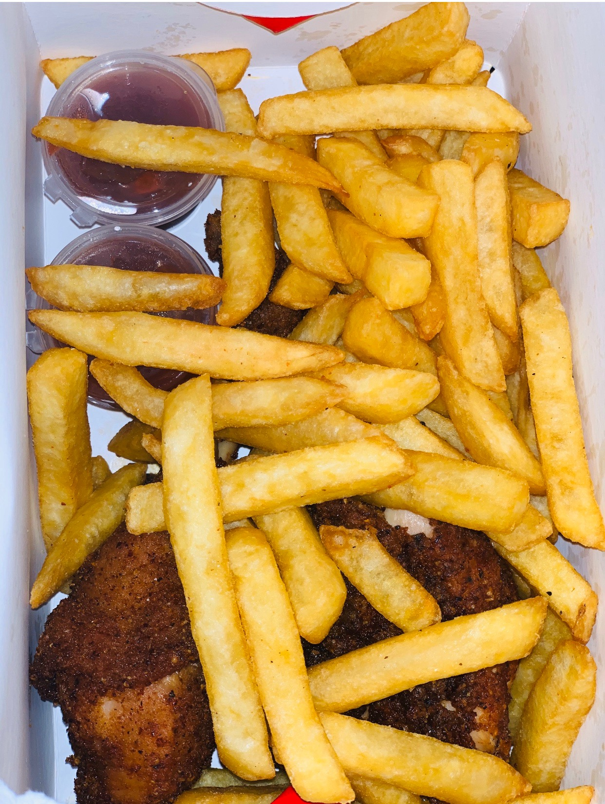 #cookingrecipehq  fried potatoes chips with roasted chicken and ketchup🔥🔥😋