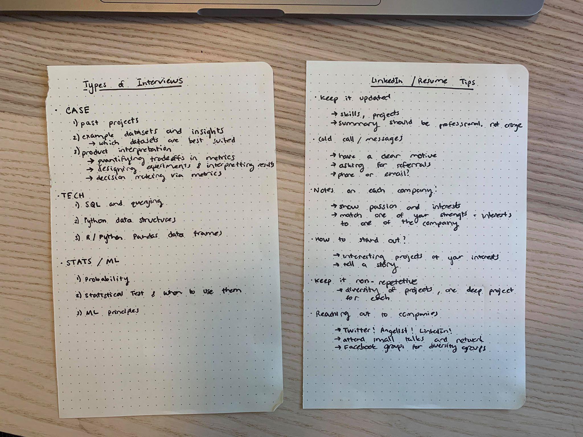 Isha's Notes