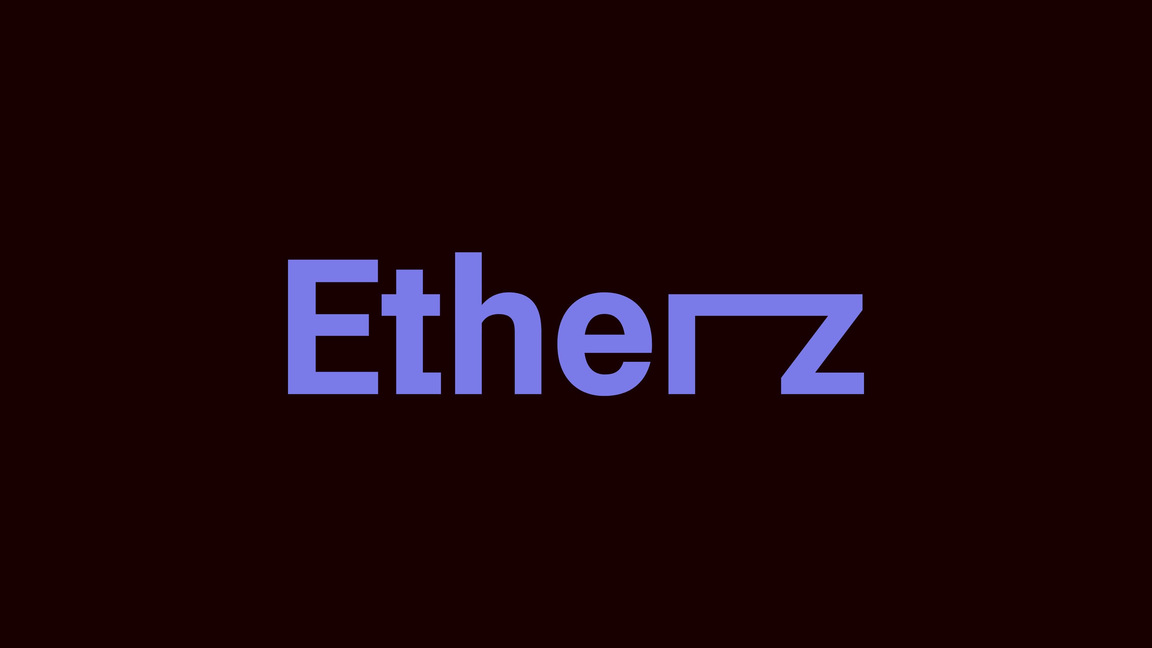 Etherz - The Codeine Design