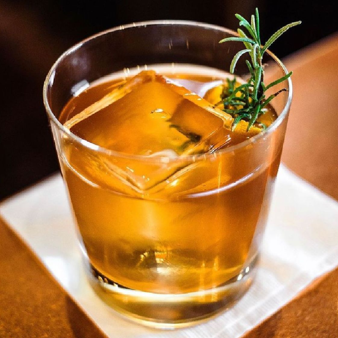 When coming up with this cocktail my intent was to create a riff on a Monte Carlo/Old Fashioned that was really smooth and easy to drink but wasn't too sweet. This cocktail is smooth as silver.